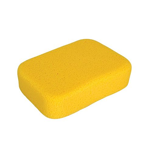 QEP 7-1/2 x 5-1/2 x 2 Inch Extra Large Sponge for Tile Grouting and Household Cleaning