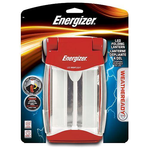 Lanterne repliable à DÉL Weatheready<sup>®</sup> Energizer<sup>®</sup>