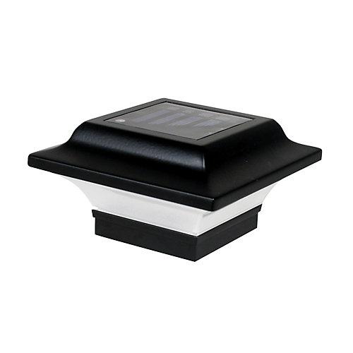 Capuchon De Poteau Solaire Imperial 2,5X2,5 Aluminium Noir