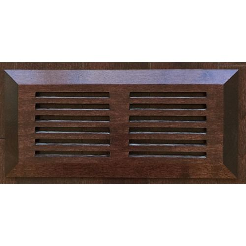 Grille de surface, 4 x 10 po, érable royal java