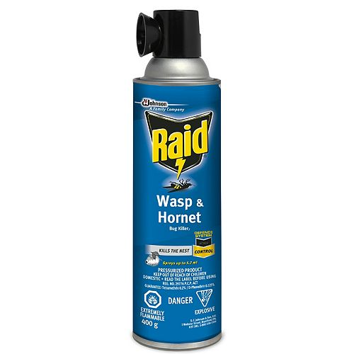 Wasp and Hornet Killer Spray, 400g