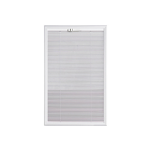 22-inch x 36-inch Tilting Internal Miniblind Low-E 1/2-Lite Glass Insert