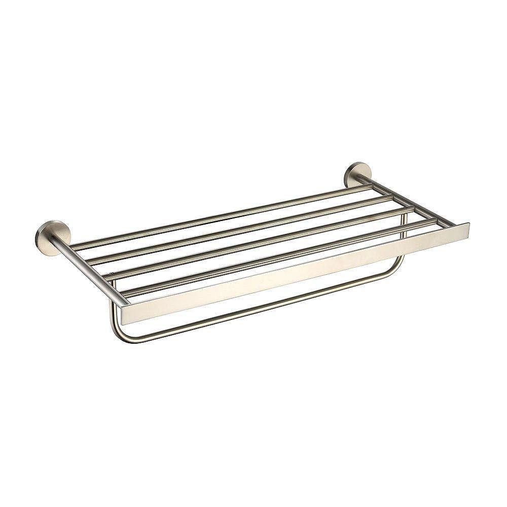 Kraus Imperium Bathroom Accessories - Bath Towel Rack with ...