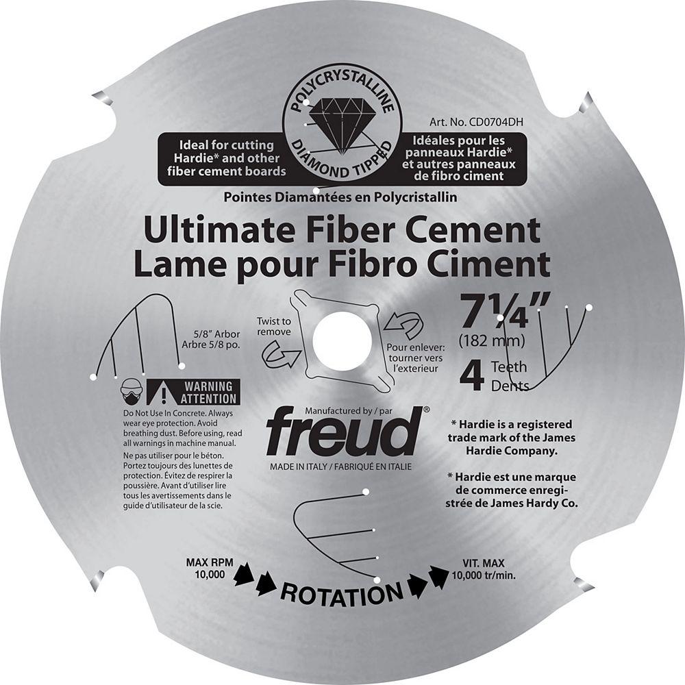 Freud Lame pour Fibro Ciment Pointes Polycristallin 7-1/4 po