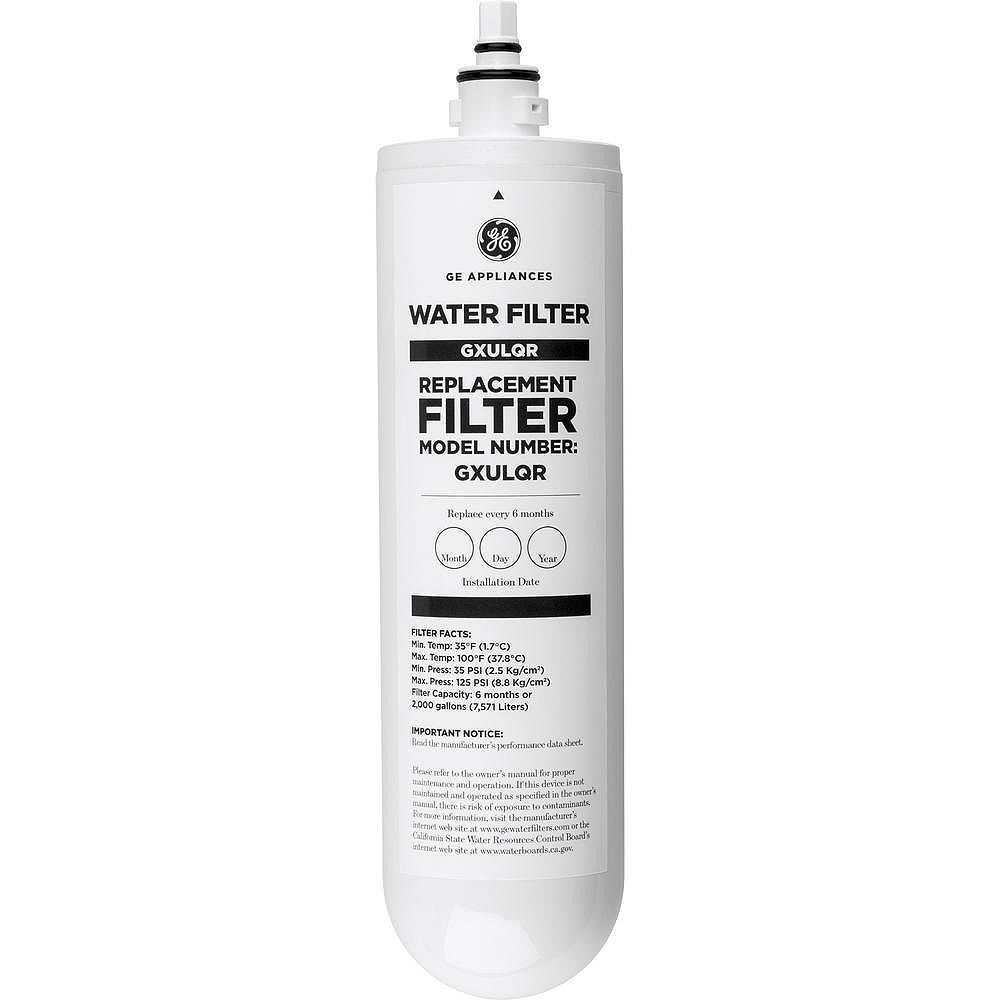 GE Kitchen or Bath Water Filtration Replacement Filter