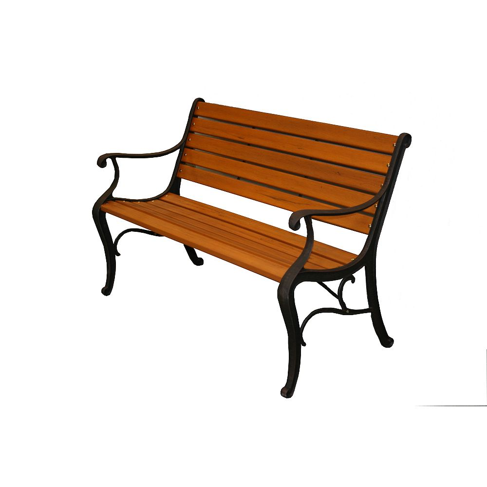 Eon Classic Outdoor Park Bench The Home Depot Canada