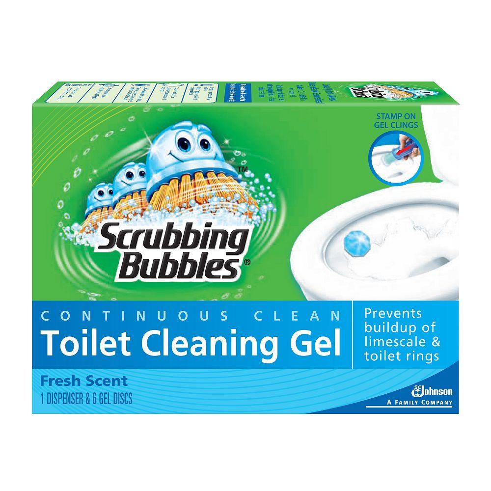 Scrubbing Bubbles Gel nettoyant pour cuvette - Propre et frais