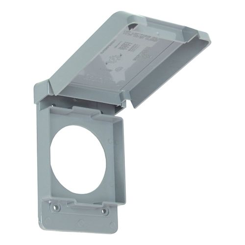 Weatherproof 50 AMP Receptacle PVC Cover