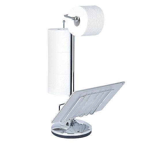 Toilet Caddy Chrome