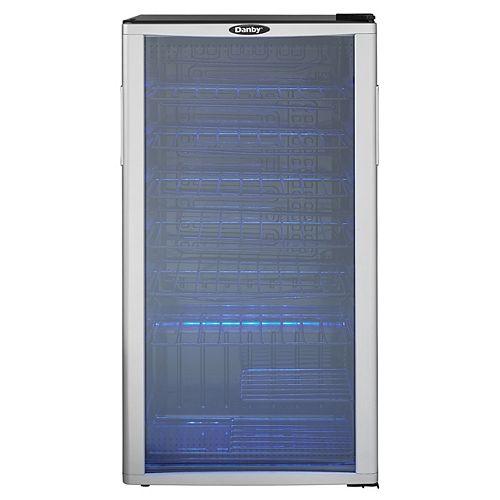35-Bottle Wine Cooler with LED-Lit Interior