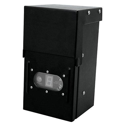 Transformateur de 12 Volt 200 Watt avec minuterie numérique