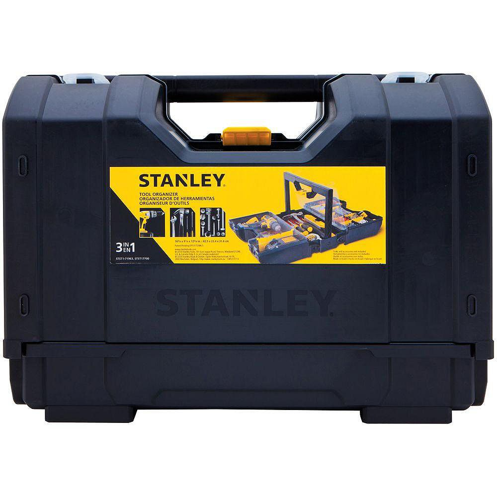 STANLEY 22-Compartment 3-in-1 Small Parts Organizer
