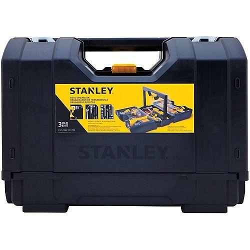 22-Compartment 3-in-1 Small Parts Organizer