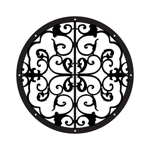 Porthole Fence & Gate Accent