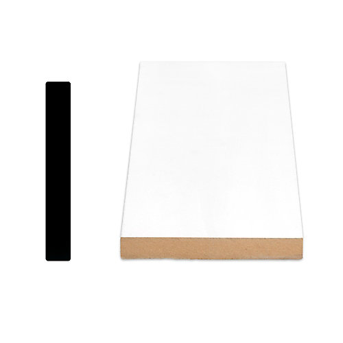 Painted Fibreboard Door Jamb 5/8 Inches x 4-9/16 Inches x 84 Inches