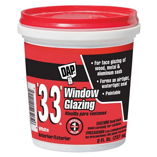 33 Window Glazing White - 237 ml