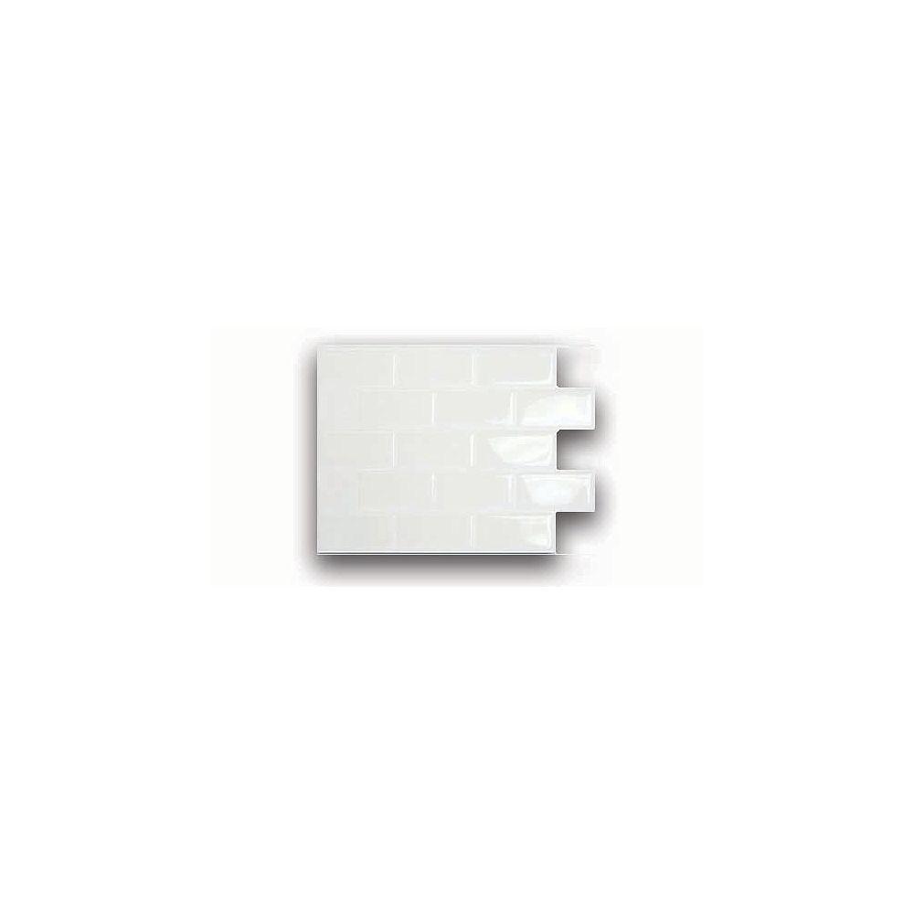 Smart Tiles White Mosaik Tile