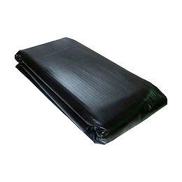Recouvrement en PVC renforcé pour bassin de 2 m x 3 m noir