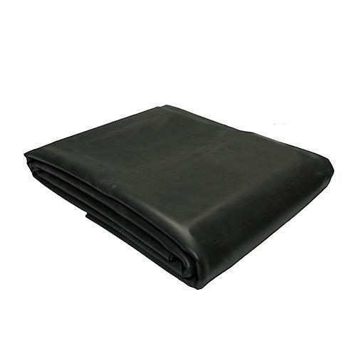 Toile de bassin - EPDM noir  -3 x 3 m  1 mm