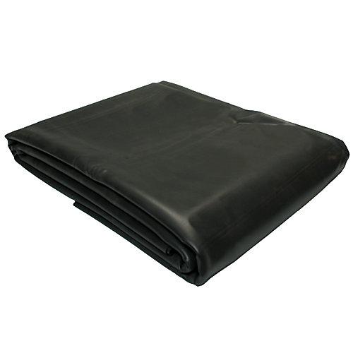 Toile de bassin - EPDM noir  -3 x 4,5 m  0,76 mm