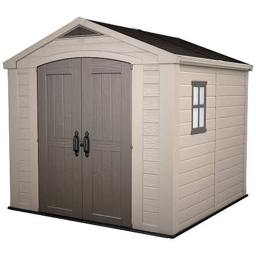Factor 8 ft. x 8 ft. Shed