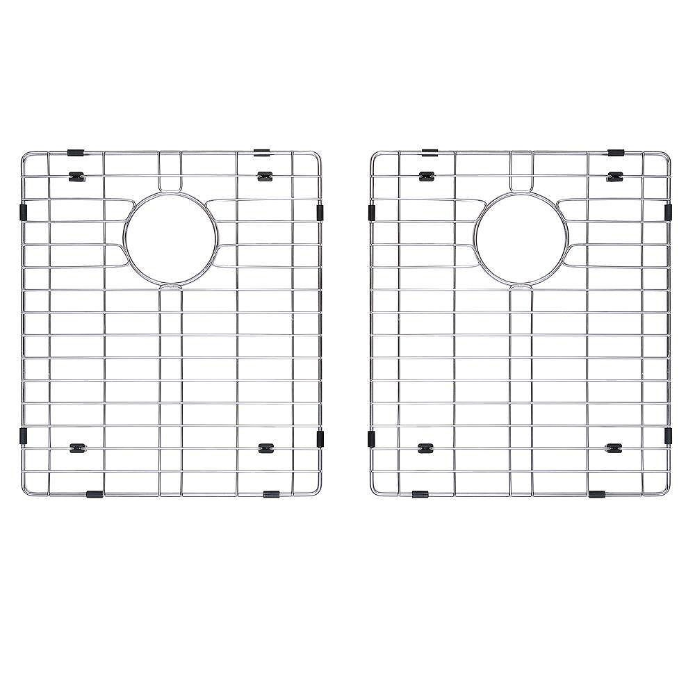 Kraus Stainless Steel Bottom Grid w/Protective Anti-Scratch Bumpers for KHU102-33 Kitchen Sink