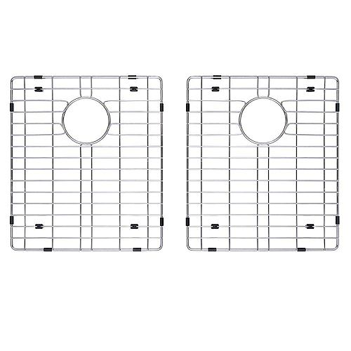 Stainless Steel Bottom Grid w/Protective Anti-Scratch Bumpers for KHU102-33 Kitchen Sink