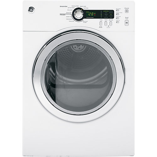 4.0 cu. ft. Front Load Electric Dryer in White
