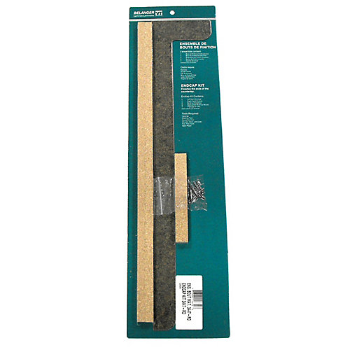 3447-RD Countertop End Cap Kit in Mineral Olivine