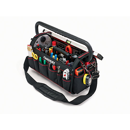 20-inch Pro Tool Bag with Tool Wall