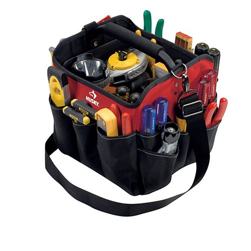 Husky 10-inch All-Purpose Tool Tote