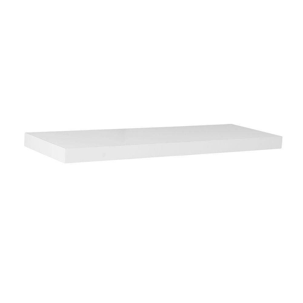 Home Decorators Collection 24-inch Floating Shelf in White