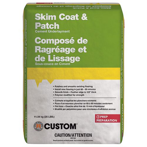 Custom Building Products Skim Coat & Patch Cement Underlayment11.34kg