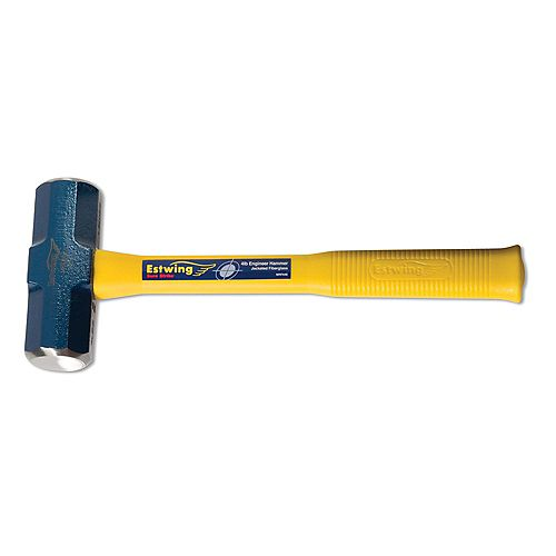 4Lb Engineers Hammer w/Fiberglass Handle