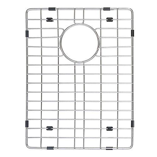 Grille inférieure en acier inoxydable avec pare-chocs de protection anti-rayures pour évier de cuisine KHF203-36, bol droit