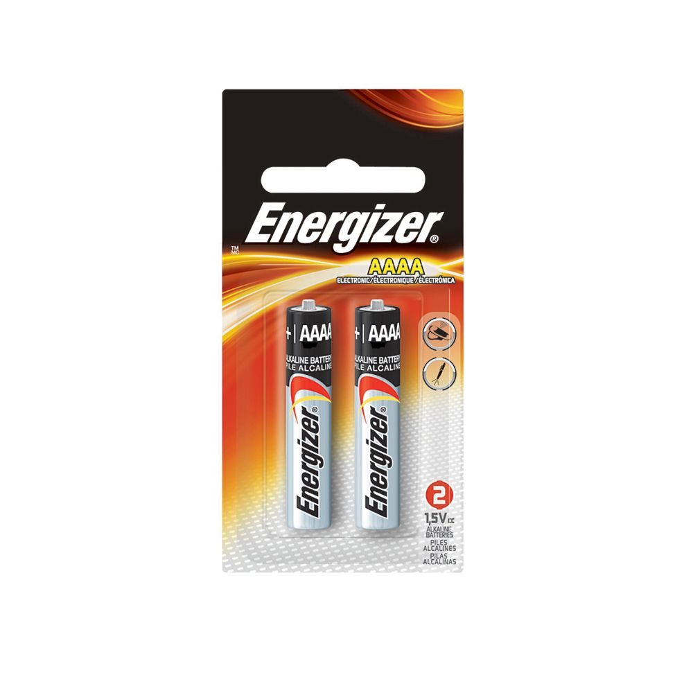 Energizer Max AAAA Battery- (2-Pack)
