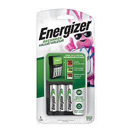 Chargeur Valeur Recharge pour piles rechargeables NiMH AA et AAA