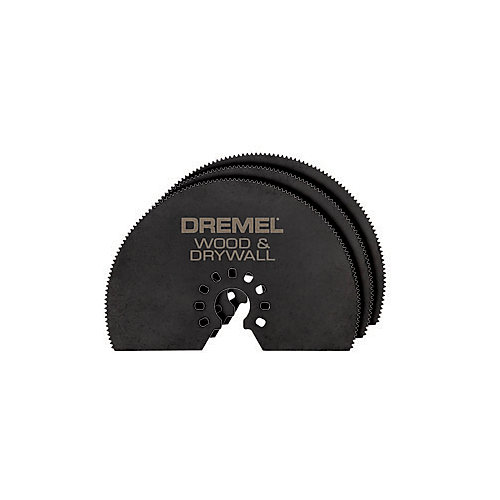 3-inch Wood & Drywall Saw Blade (3-Pack)