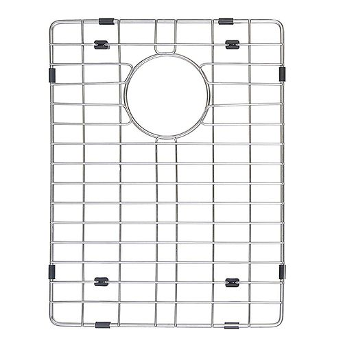Kraus Stainless Steel Bottom Grid w/Protective Anti-Scratch Bumpers for KHU103-33 Kitchen Sink Right Bowl