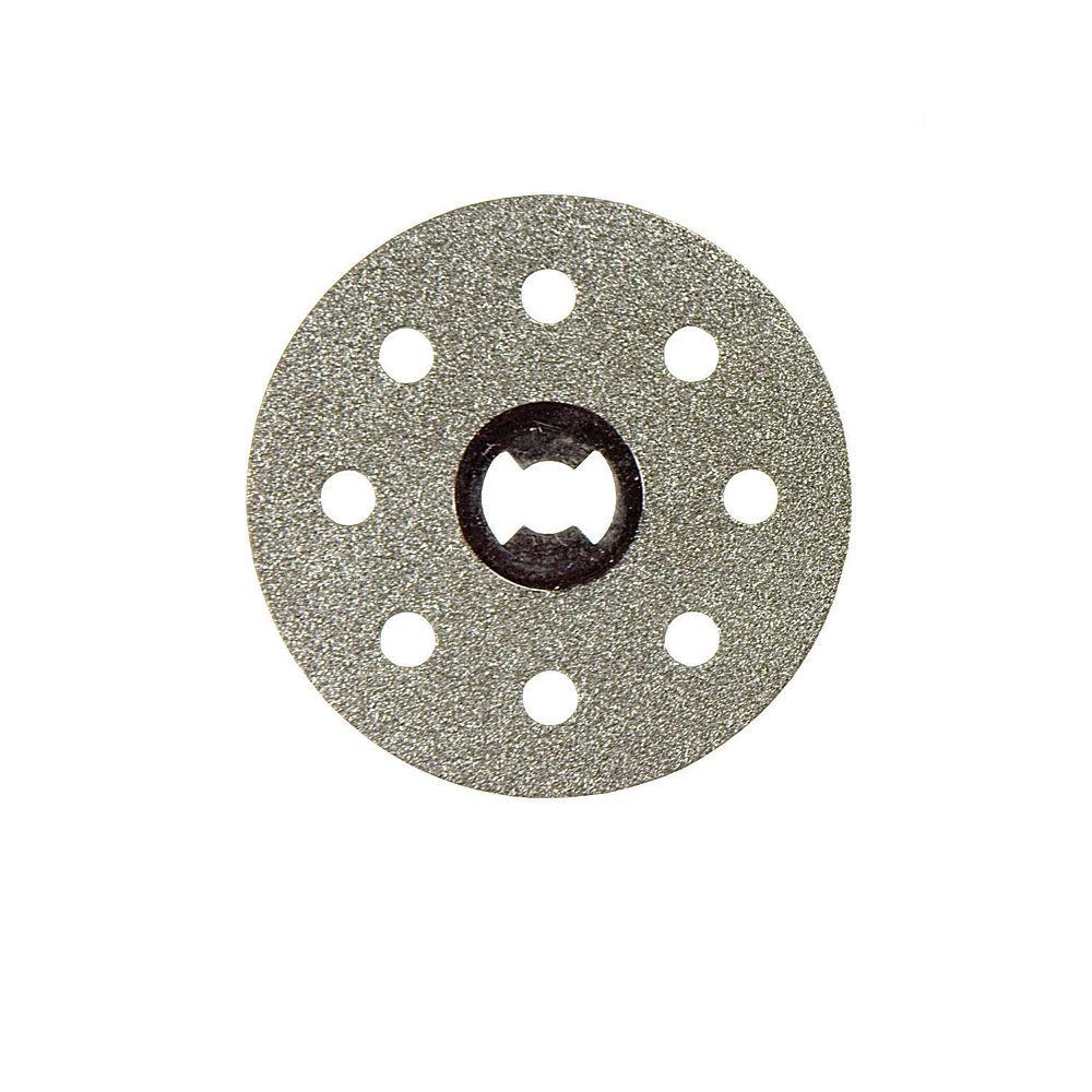 Dremel Molette à lame diamantée EZ Lock de 1 1/2 pouce pour outils rotatifs pour carreaux et matériaux céramiques