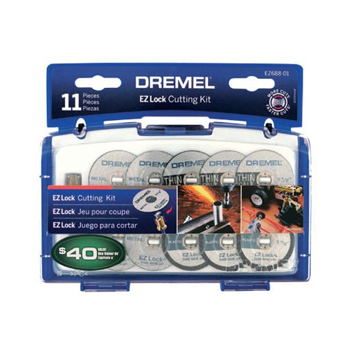 11-Piece EZ Lock Cutting Kit