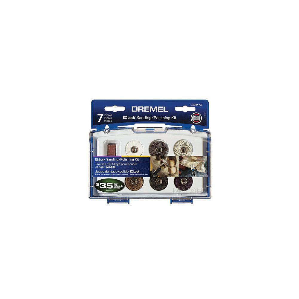 Dremel 7-Piece EZ Lock Sanding/Polishing Kit