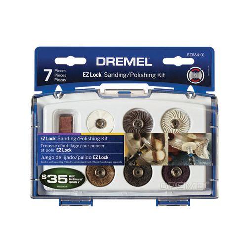 7-Piece EZ Lock Sanding/Polishing Kit
