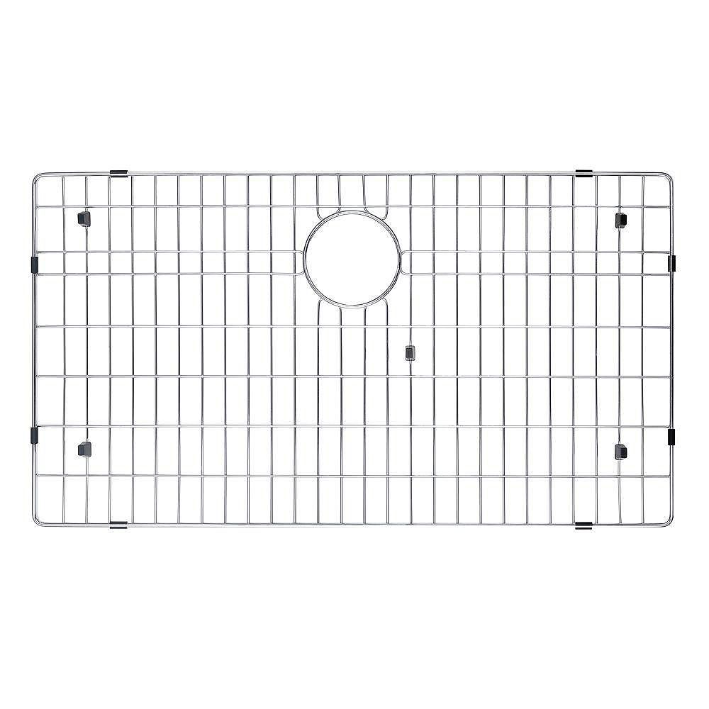 Kraus Stainless Steel Bottom Grid w/Protective Anti-Scratch Bumpers for KHU100-32 Kitchen Sink