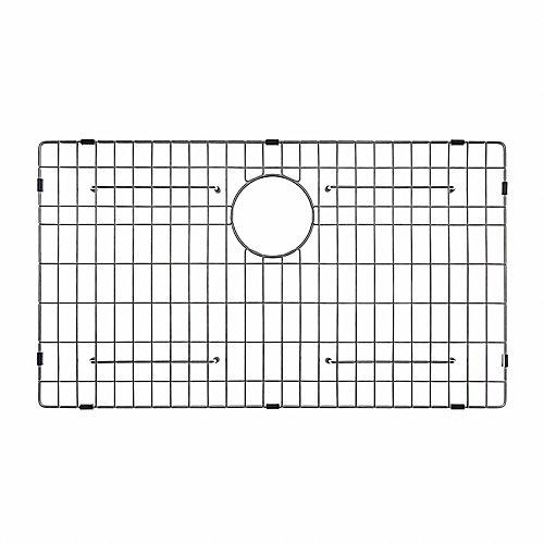 """Grille de fond d'évier de 71,1 cm (28"""") x 40,6 cm (16"""") en acier inoxydable"""