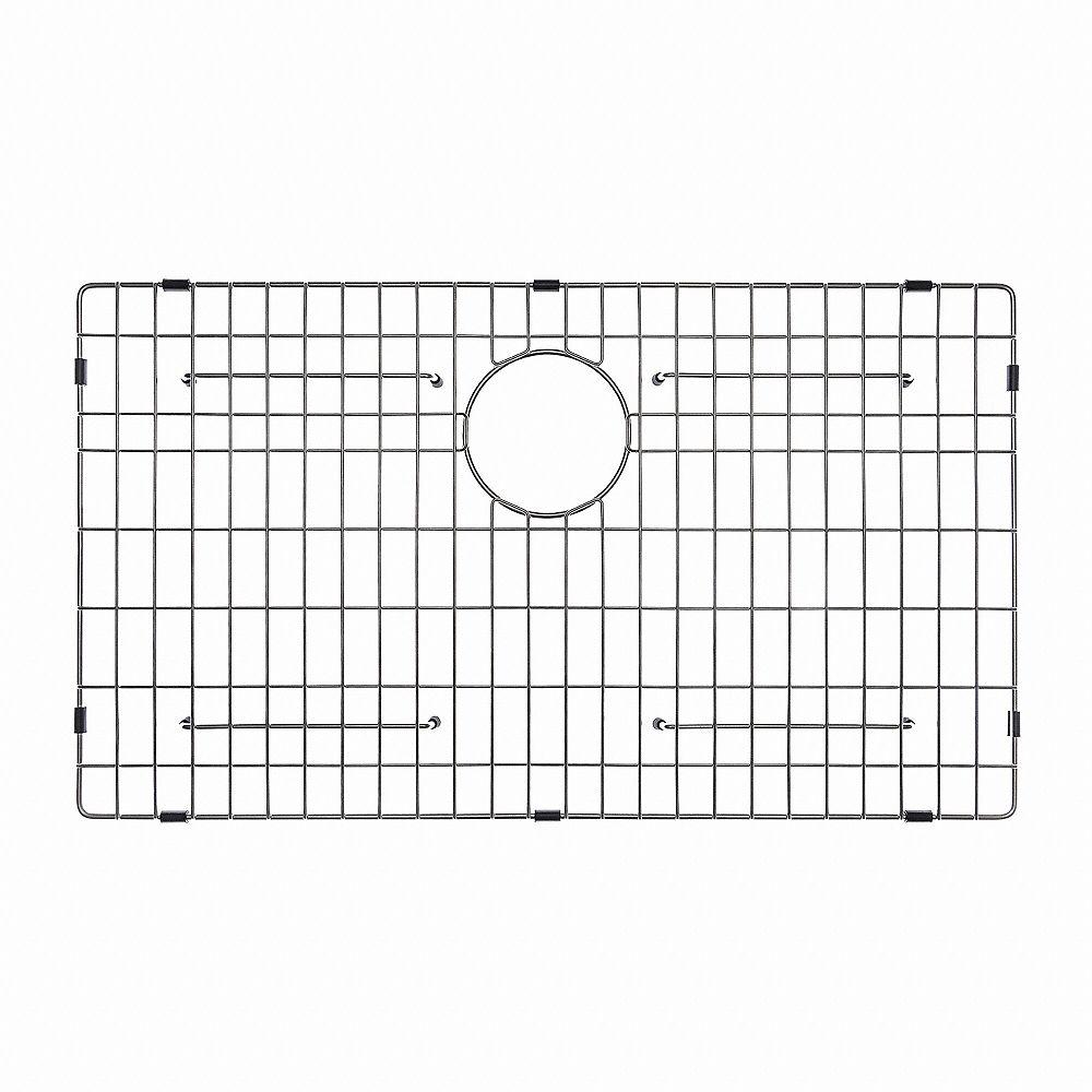 """Kraus Grille de fond d'évier de 71,1 cm (28"""") x 40,6 cm (16"""") en acier inoxydable"""
