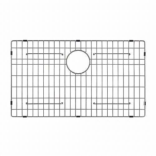Stainless Steel Bottom Grid w/Protective Anti-Scratch Bumpers for KHU100-30 Kitchen Sink