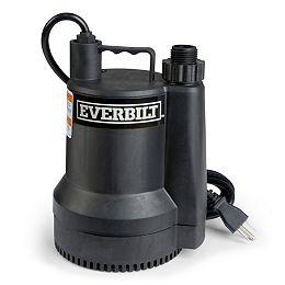 1/6 HP Portable Submersible Utility Pump