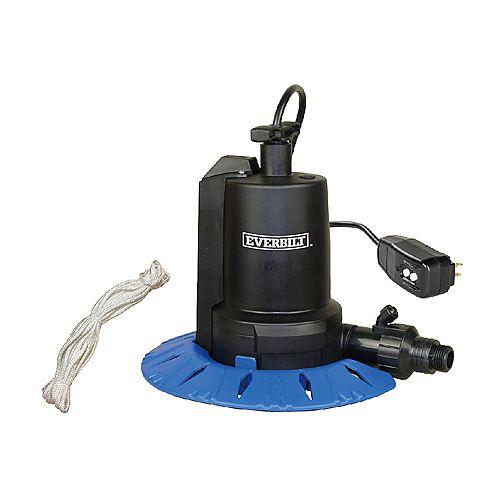Pompe de couverture de piscine 1/8 HP