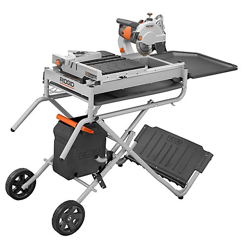 7-inch Portable Tile Saw with Laser